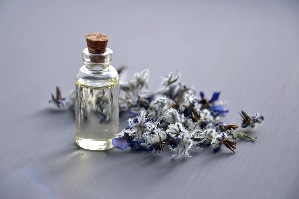 aromatherapy oil bottle