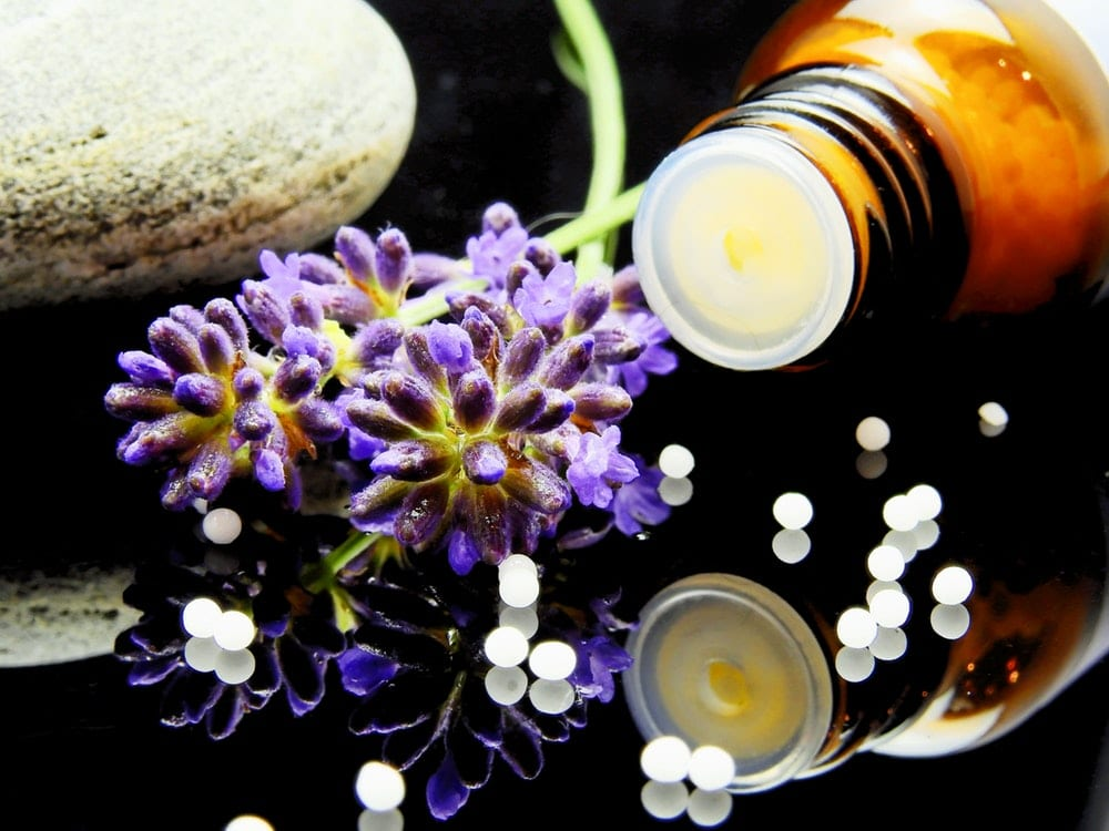 lavender salt bath