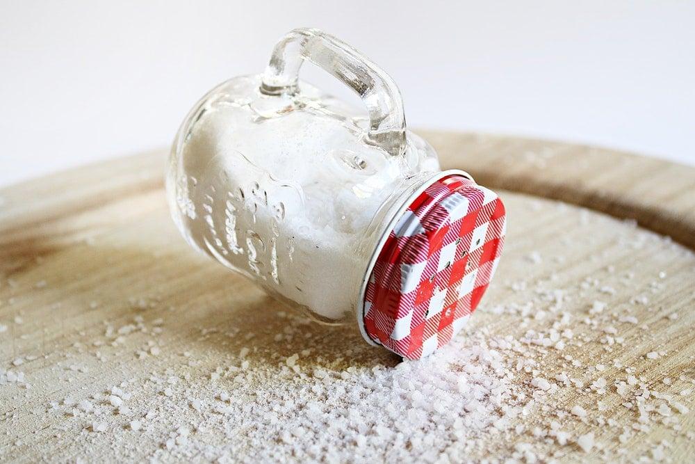 bottle salt