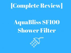 shower filter aquabliss sf100
