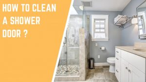 shower door cleaning