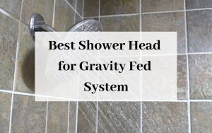Best Shower Head for Gravity Fed System