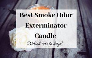 Best Smoke Odor Exterminator Candle