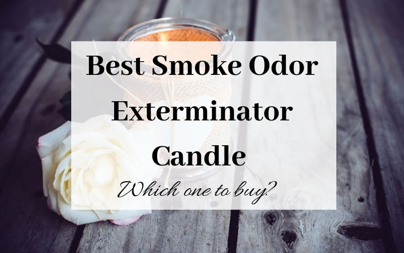Best Smoke Odor Exterminator Candle