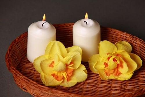 aromatherapy candlelight candle