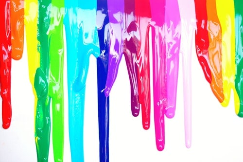 melted color