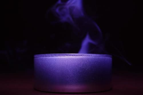 aroma blue candle