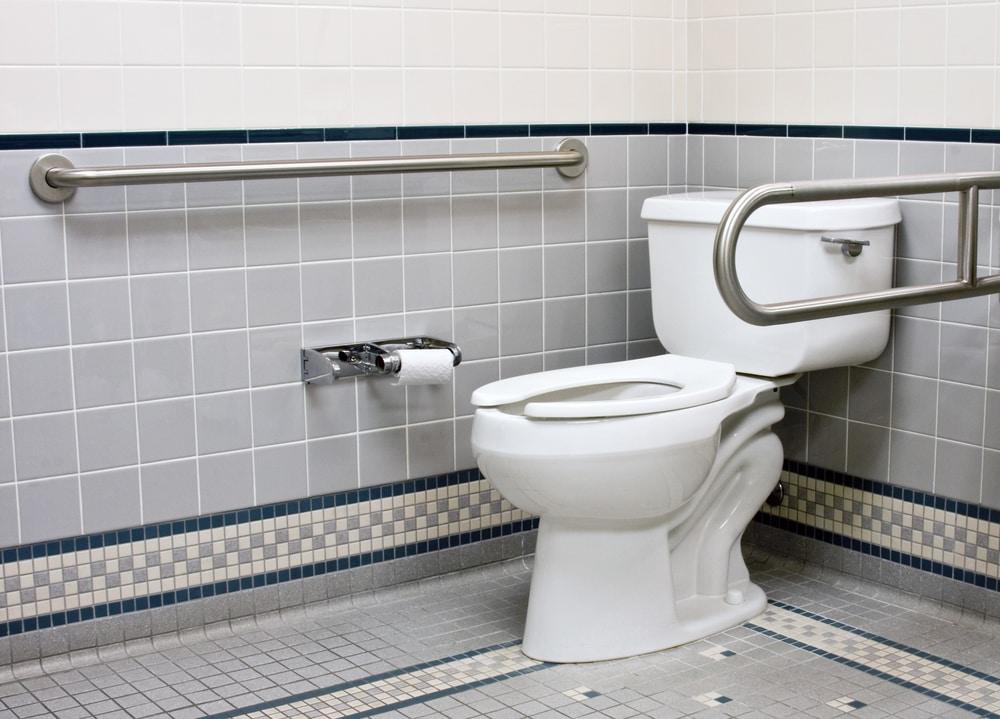 bathroom handle