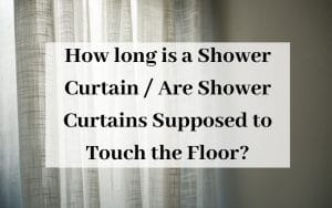 how long is a shower curtain